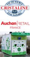 CRISTALINE et AUCHAN RETAIL FRANCE S'ENGAGENT